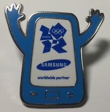 SAMSUNG telefono con le braccia-partner in tutto il mondo - 2012 Olympic pin badge