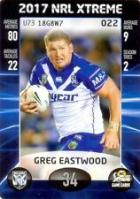 Canterbury Bulldogs Single NRL & Rugby League Trading Cards