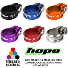 Hope Bolt On Seat Seatpost Clamp - All Colors and Sizes - Brand New
