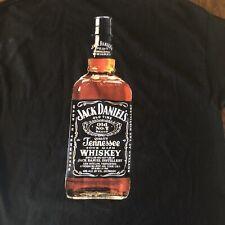 Homme Brodé JACK DANIEL/'S # 7 Whisky White Western Chemise à manches longues Snaps