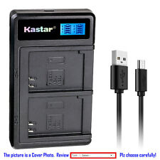 Kastar Battery LCD Dual Charger for Canon NB-5L CB-2LX & Canon PowerShot S110