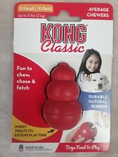 Kong Classic Dog Toy, X-Small, Red