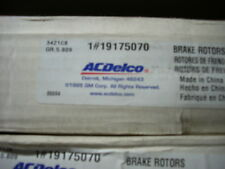 19175070 Disc Brake Rotor Front ACDelco 18A862