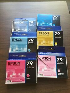 Epson 79 print cartridge set high capacity