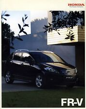 Honda FR-V 2008 catalogue brochure polonais Poland rare