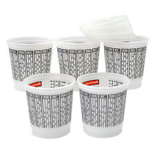 Paint Mixing Cups 1/2 PINT with Lids Plastic Measuring Quick Mix 5 Piece Set