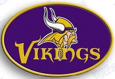 MINNESOTA VIKINGS    iron on 100% embroidered PATCH NFL FOOTBALL PATCHES