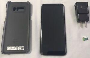 Samsung Galaxy S8 plus Midnight Black 64gb (128gb sd included)