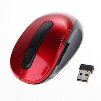1600DPI 2.4G Optical Wireless Mouse 6 Keys USB Receiver for Laptop PC Notebook