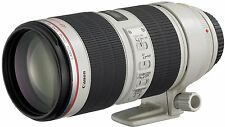 Canon Telephoto Zoom Lens EF70-200mm F2.8L IS II USM Full Size  New