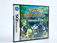 POKEMON MYSTERY DUNGEON EXPLORERS OF TIME **EXCELLENT CONDITION**