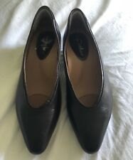 EARTHIES Shoes Tafoya Chestnut LEATHER LOW HEEL PUMPS 9.5B NEW