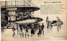 CPA Oh ! la Sardine (186010)