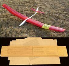 "99"" wingspan Sagitta 900 R/c Glider short kit/semi kit and plans"
