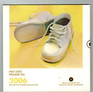 2006 FIRST STEPS 7-COIN BABY GIFT SET STILL SEALED AS ISSUED BY THE MINT!