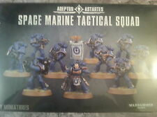 WARHAMMER 40K SPACE MARINE TACTICAL SQUAD - NEW & SEALED