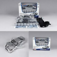 Maisto 1/24 Nissan GTR Assembled Version Racing Car Model Alloy Memento Silver