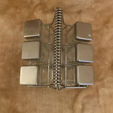 Square Glass Spice Rack