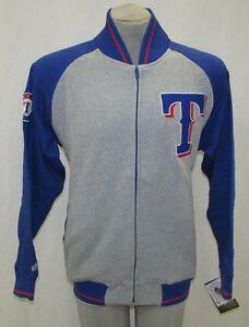 Texas Rangers MLB Men's  Full-Zip Dugout Cloth Jacket