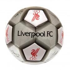 Liverpool FC Taglia 5 2018 Palla Firma Calcio Argento Regalo Speciale Natale