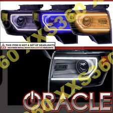 ORACLE Headlight DRL Upgrade HALO RING KIT for Ford F150/Raptor 09-14 AMBER LED