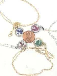 Diminutive Mother's Day gem Shaker Lockets: You choose the locket and the GEMS