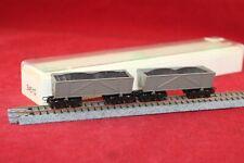 Roco 34510 Spur H0e 2 x Torfbahnwagen/sehr guter Zustand/OVP