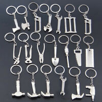 ALS_ Creative Tool Style Wrench Spanner Key Chain Ring Keyring Metal Keychain Ea