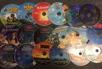 Lot Of 18 Disney Dvds Just Disc Toy Story Peter Pan Lady And The Tramp