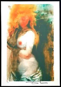 Salvador Dali - Lithographie Limitierte Auflage Nr. 96/350