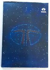 2000 TATA Indica Safari India Original Car Media Brochure Catalog Press Kit