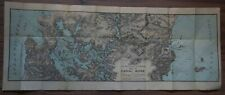 Panama Canal Zone Map 1908 as proposed - Isthmian Canal Commision