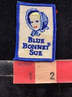 Vintage, Quite Old BLUE BONNET SUE Margarine / Butter Advertising Patch 00Y3