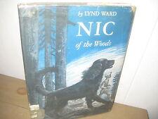 Nic of the Woods/ Lynd Ward/ Hbdj/cocker spaniel/ 1965/ dog tale