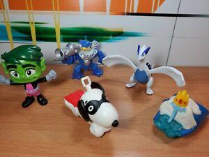 McDonald's Happy Meal Toys Pokemon Skylanders Snoopy Teen Titans  Adventure Time