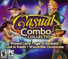Casual Combo Collection PC CD-ROM Games Windows 10 8 7 Vista XP