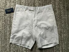 POLO RALPH LAUREN WHITE STRAIGHT FIT SHORT SIZE 36W