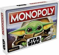 The Mandalorian Monopoly Official Star Wars Baby Yoda Edition Family Board Games
