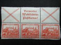 Germany 1932 Stamps MNH / MH Booklet Nuremberg Castle Deutsches Reich German
