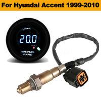 52mm Auto Car Air Fuel Ratio Gauge+O2 Oxygen Sensor For Hyundai Accent  🔥