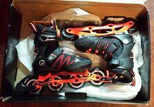 K2 Skate Men's F.I.T Boa Inline Skates, Black/Orange, Size 5
