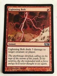 MAGIC MTG 1x 2010 Core Set x1 Lightning Bolt!