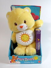 Care Bears FunShine Bear Plush W/VHS Video Tape By Play Along  2002, New In Box