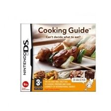 Cooking Guide Can't Decide What to Eat Nintendo DS NDS Lite DSi Video Game