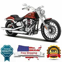 diecast model 2014 Harley Davidson CVO Breakout Motorcycle 1/12 scale