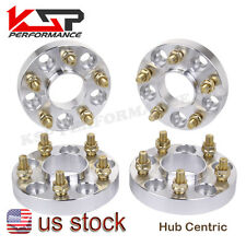 1'' Wheel Spacer Adapters 5x4.5 5x114.3mm Hub Centric 12X1.25 Studs 66.1MM 350Z