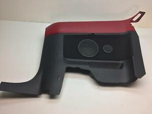 1Y0867044 VW New Beetle Cabriolet Rear Quarter Interior Panel Salsa Red A3H /08