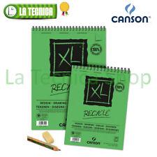CANSON XL RECYCLè blocco A4 A5 A3 160gr album disegno carta RICICLATA ecologica
