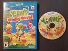 Yoshi's Woolly World - Nintendo Wii U, 2015 CIB Tested