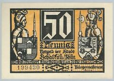 Notgeld - Stadt Schalkau - 50 Pfennig - 1921 - Motiv 1: Burg